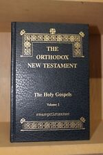 Orthodox New Testament Vol 1: The Holy Gospels ~ Evangelistarion 1999 HB VG!