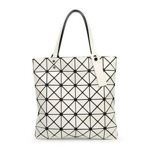 Quilted Sequin Shoulder Bag Geometric Lattice Laser Ladies Girls Handbag Women