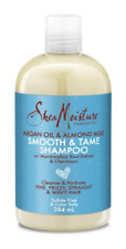 Shea Moisture SMOOTH & TAME Shampoo Argan Oil & Almond Milk 384ml