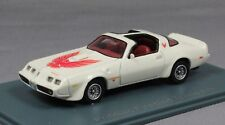 Neo Models Pontiac Firebird Trans Am in White 87582 1/87 NEW Resin