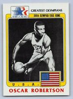 1983  OSCAR ROBERTSON - Topps GREATEST OLYMPIANS Card # 63 - BASKETBALL