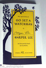 Harper Lee author RARE hand SIGNED 1st Edition Go Set A Watchman Book #117/500