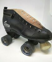 roller derby BLACK COBRA mens size 9 right skate only - Single Display or parts