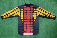 Vintage adidas Soccer Football Goalie Goalkeeper Jersey Size L 1990s Usa Made