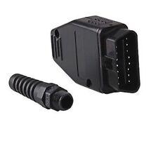 Universal OBD2 II 16 Pin Male Connector Diagnostic Adapter - L45