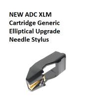 NEW ADC XLM Cartridge Generic Elliptical Upgrade Needle/ Stylus