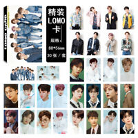 Kpop NCT HD Photocard Paper Lomo Photo Card Collective Cards 30pcs Fans Gifts
