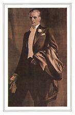 Nostalgia Postcard Evening Dress 1920 Men's Fashion Reproduction Card NS52