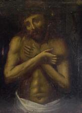 antikes Ölgemälde 17./18. Jhd  - Geisselheiland - Ecce Homo - 81x65