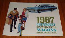 1966 1967 Chevy Nova 4 Door Station Wagon Deluxe Headliner Surrey