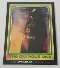 Star Wars Celebration Anaheim Excl Topps Oversizes Trading Cards Darth Vader Set