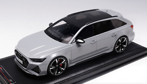 1/18 MotorHelix Audi RS6 Avant 2021 in Nardo Grey  Limited to 99 pieces