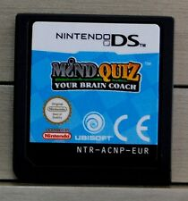 MIND QUIZ YOUR BRAIN COACH - NINTENDO DS - PAL ESPAÑA - CARTUCHO