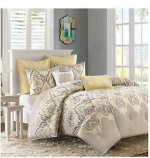 New listing Madison Park Nisha 7-Piece King/Cal Comforter Set Yellow Retails For $320.00 New