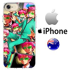 iPhone Case Cover Silicone The Disastrous Life of Saiki K netlix cool anime Pink