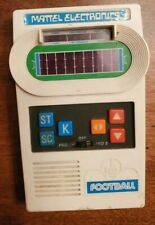 Vintage Mattel hand held Classic Footbal Game, tested working!