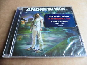ANDREW W.K. - YOU'RE NOT ALONE - NEW / SEALED - CD ALBUM