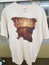 Eagles Long Road Out Of Eden Concert Tour T-Shirt Men Large 2007 2008 Band Shirt