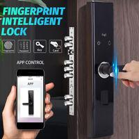 Smart Door Lock APP Fingerprint Touch Password Keypad Card Security Electronic