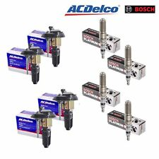 Set Of 4 BS-C1395 AcDelco Coils & 4 Bosch 4482 Spark Plugs
