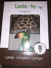 Lambs & Ivy Peek A Boo Jungle Lamp
