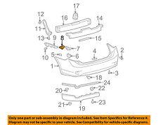 TOYOTA OEM 09-13 Corolla Rear Bumper-Side Support Left 5215802010