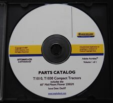 GENUINE NEW HOLLAND T1010 T1030 TRACTOR + 230gm MOWER PARTS CATALOG MANUAL ON CD