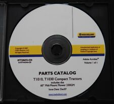 Genuine New Holland T1010 T1030 Tractor 230gm Mower Parts Catalog Manual On Cd