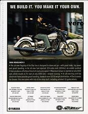 YAMAHA 2006 ROADLINER S magazine print ad motorcycle advertisement art clipping