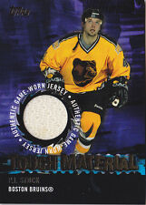 03-04 Topps P.J. Stock Jersey Tough Material Bruins 2003