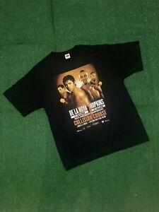 2004 Oscar De La Hoya/Bernard Hopkins Boxing T-Shirt (Size XL)