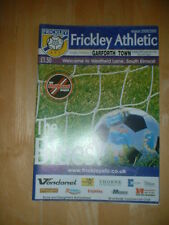 2008/9 frickley Athletic V Garforth Town