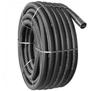 BLACK ELECTRICAL FLEXIBLE CABLE DUCTING 63MM X 50M