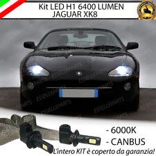 ABBAGLIANTE LED JAGUAR XK8 H1 6400 LUMEN ACCENSIONE RAPIDA 6000K