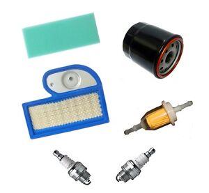 Service Kit, Air, Fuel, Oil Filter, Spark Plug, John Deere LT180, LTR180, KT007