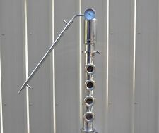 "3"" Stainless Moonshine Still Reflux Column, 4-sight glasses"