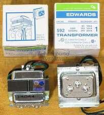 Edwards 592 Transformer, 8, 16 & 24 Volt Secondaries, NEW!