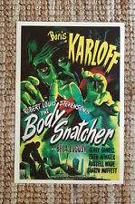 The Body Snatcher Lobby Card Movie Poster Boris Karloff Bela Lugosi