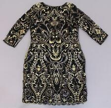 ASOS Women's TFNC Patterned Sequin Mini Bodycon Dress BF5 Size US:10 UK:14