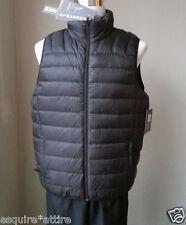 Hawke Co. men size M packable  puffer down full zip black vest NWT ($125)