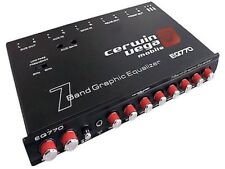 CERWIN-VEGA 7-Band Graphic EQ with Aux Input | EQ-770