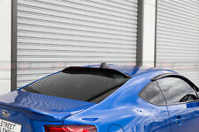 Toyota 86 & Subaru BRZ 12-18 Rear Window Visor / Roof Visor / Rear Windw Spoiler
