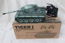 Taigen 1/16 2,4 GHz RC Deutsch Tiger 1 Früh Produktion Grau BB Tank Metall