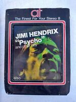 Jimi Hendrix - Psycho - 8track - Rare! Hard To Find! 8 Track, American Tape