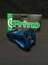 PRIMO ANEYERLATOR ANODIZED BLUE FRONT LOAD BMX STEM 1 1/8th Fit: Cult Odyysey GT