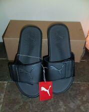 PUMA Mens Starcat Tech Slide Sandals Black size 9