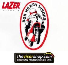 Bob Heath Motorcycle Helmet Visor BHV538  - LAZER LZR/Superbike/Evolution/Attack