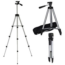 PORTABLE CAMERA TRIPOD UNIVERSAL STAND + CARRY CASE DIGITAL CAMCORDER SLR FOLD