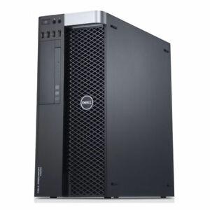 Dell T5600 1x Xeon E5-2630 6C/12T 2.3Ghz 16GB Ram 256GB SSD AMD V7900 2GB 635W