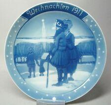 (G3507)Rosenthal Weihnachtsteller von 1911 'Heilige 3 Könige' Heinrich Vogeler